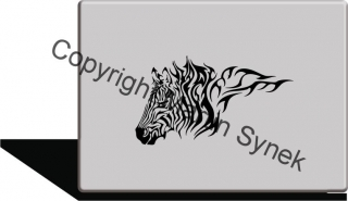 zebra tribal
